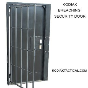 BREACHING SECURITY DOOR