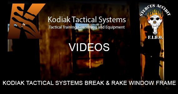 Kodiak Break Rake Window Frame