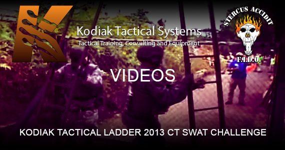 KODIAK TACTICAL LADDER 2013 CT SWAT CHALLENGE