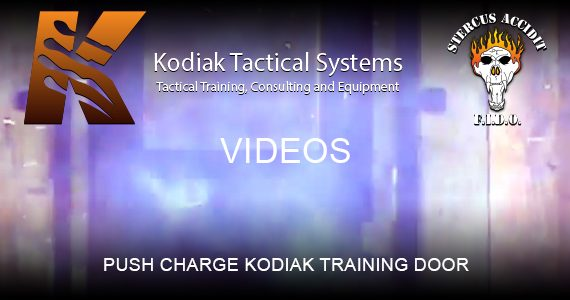 Push Charge Kodiak Training Door