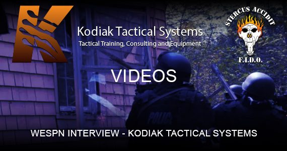 WESPN INTERVIEW KODIAK TACTICAL SYSTEMS