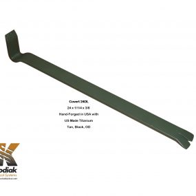 Covert 24DL Titanium Pry Bar